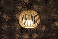 Orange lamp Stock Image