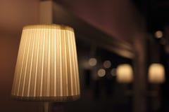 Orange lamp Stock Images