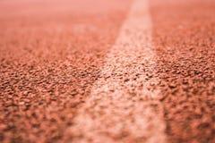 Orange lane Royalty Free Stock Photography