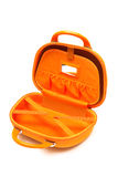Orange large bag Royalty Free Stock Photography