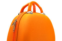 Orange large handbag Royalty Free Stock Photography
