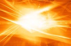 Orange laser background Stock Images