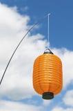 Orange Laterne Stockfotografie