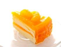 Orange layer cake Stock Photography