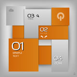 Orange Layout Stock Images