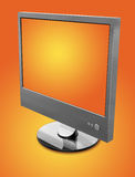 Orange LCD Royalty Free Stock Images