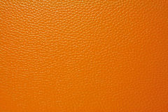 Orange Leather Stock Photography