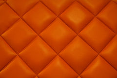 Orange leather. Royalty Free Stock Photos