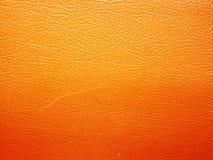 Orange leather Royalty Free Stock Image