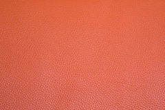 Orange leather background Stock Photography
