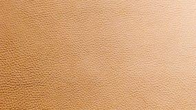Orange leather background Stock Photography