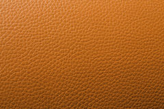 An orange leather background pattern Stock Images