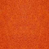 Orange leather background Royalty Free Stock Photography