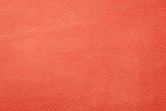 Orange leather background Royalty Free Stock Image
