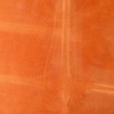 Orange leather background Stock Image