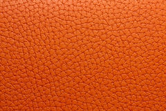 Orange leather macro Stock Photo