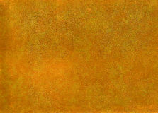 Orange leather surface. Royalty Free Stock Photo