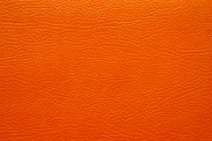 Orange leather texture Royalty Free Stock Photo