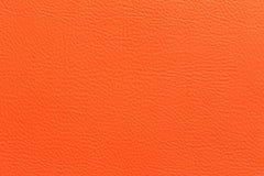 Orange leather Royalty Free Stock Photography