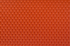 Orange leather texture background Royalty Free Stock Photography