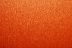 Orange leather texture Royalty Free Stock Photography