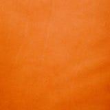 Orange leather Stock Image