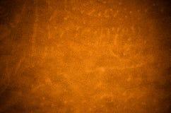 Orange leather texture Royalty Free Stock Photography