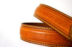 Orange, Leather, Treacle Tart, Strap Royalty Free Stock Images