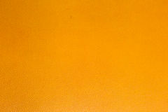 Orange leatherette Stock Photo