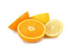 Orange and lemon Stock Image