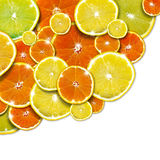 Orange and Lemon Background Royalty Free Stock Photography