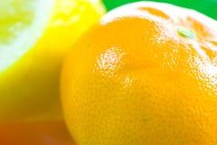 Orange and lemon fruit Royalty Free Stock Photos