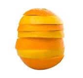 Orange And Lemon Fruit Slices III Stock Photo