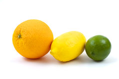 Orange, lemon and lime Royalty Free Stock Photos