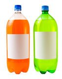 Orange and Lemon Lime Soda Stock Photos