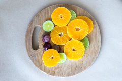 Orange and lemon Royalty Free Stock Photos