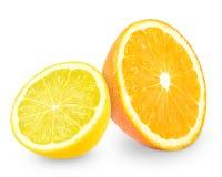 Orange and lemon Royalty Free Stock Image