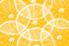 Orange lemon slice texture background Royalty Free Stock Photos