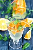 Orange lemonade Royalty Free Stock Photography