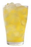 Orange lemonade med is arkivbilder