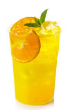 Orange lemonade Royalty Free Stock Image