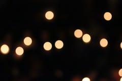 Orange Licht, Kreis und hellgelbes Lizenzfreies Stockbild