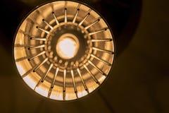 Orange Licht und Ketten Lizenzfreie Stockfotografie