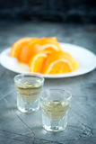 Orange licuor royalty free stock photos