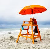 Lifeguard Stand on the Beach Royalty Free Stock Images