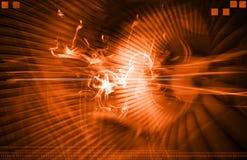 Orange Light Background Royalty Free Stock Photo