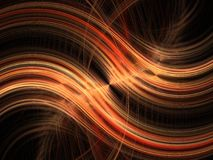Orange light blur Royalty Free Stock Images