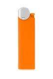 Orange lighter Stock Photography