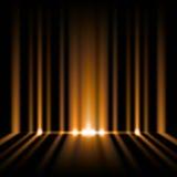 Orange lights stock illustration