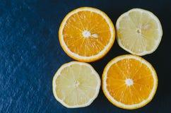 Orange And Limon Royalty Free Stock Photos